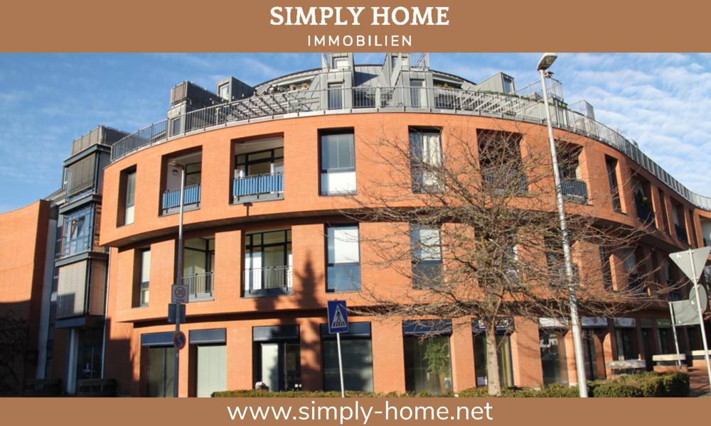 Erftstadt-Lechenich: Bildhübsche Zweizimmer-Maisonettewohnung mit zwei Balkonen und TG-Stellplatz