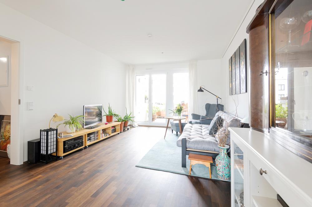 Wohn-/Ess-/Küchenbereich