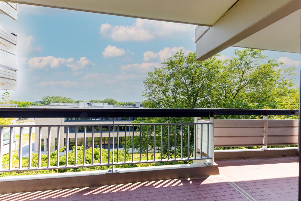 Teilansicht Balkon